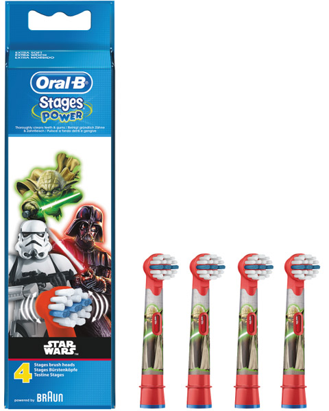 Oral-B Power Stages för barn med Star Wars-motiv EB-10 (4-pack) c6c03a1bbe4c9