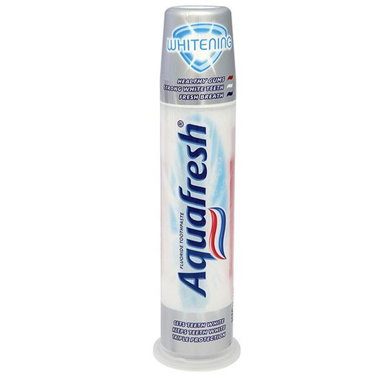 Bild på Aquafresh Whitening tandpasta med Pumpe (100 ml)