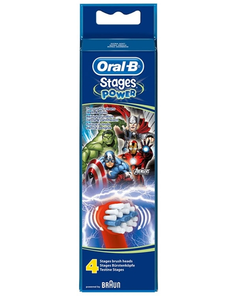 Oral-B Power Stages för barn med Avengers-motiv EB-10 (4-pack) 18909f93053fb