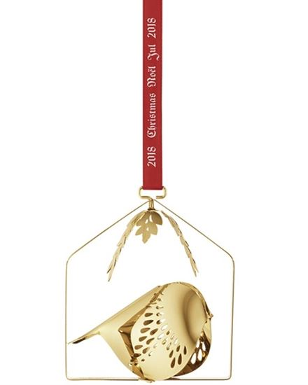 Bild på Georg Jensen - Christmas Gold Mobile Winter Bird