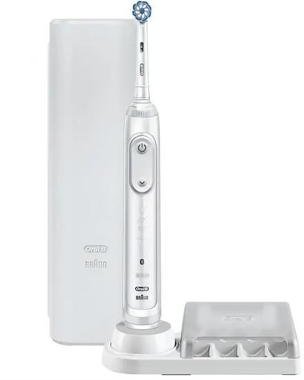 Bild på Oral-B Genius X 20000N - Fuji White - Electric Toothbrush