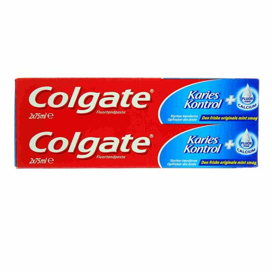 Bild på Colgate Toothpaste - Cavity protection 75 ml. - 2-pack
