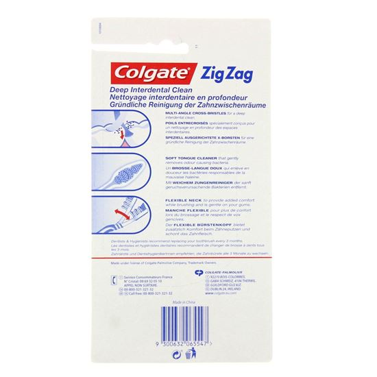 Bild på Colgate Toothbrush - ZigZag - Medium - 6-pack